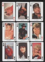 Collectible playing cards Country Music